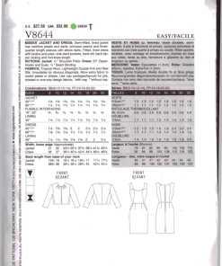 Vogue V8644 1
