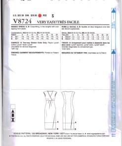 Vogue V8724 1