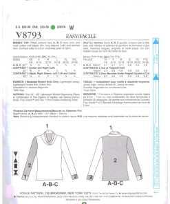 Vogue V8793 1