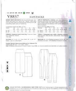 Vogue V8837 D 1