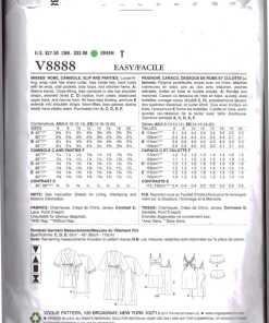 Vogue V8888 1