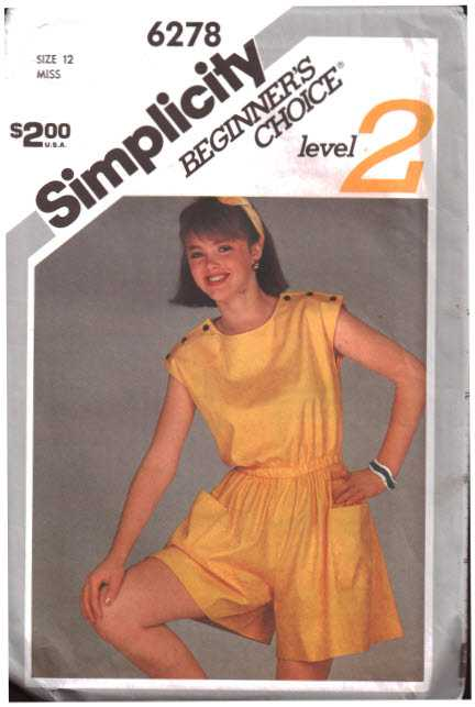 Simplicity 6278