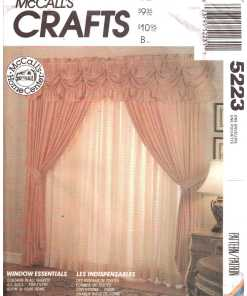 Window Treatment Sewing Patterns