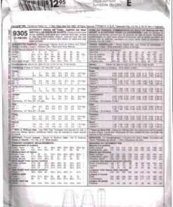 McCalls 9305 1