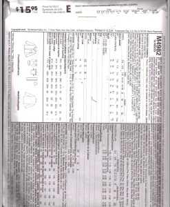 McCalls M4982 M1