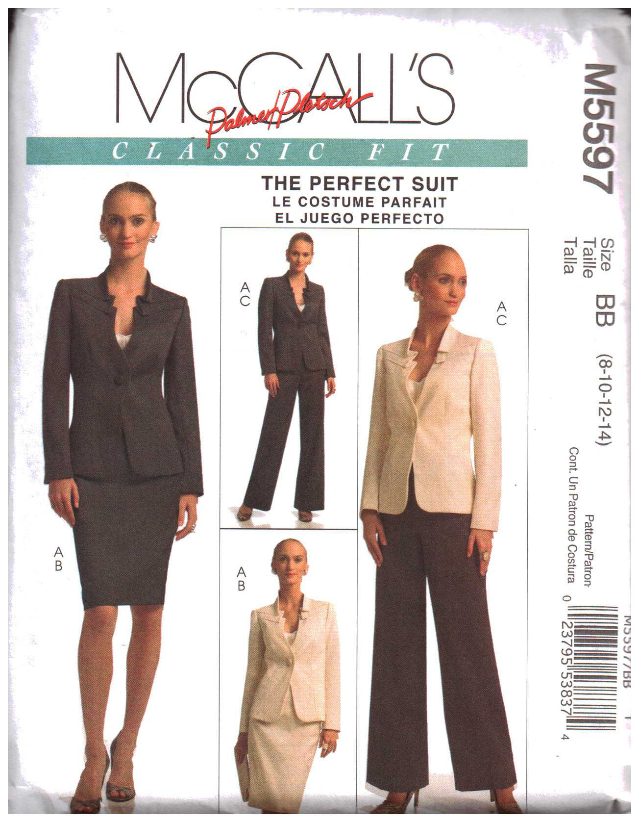 Women Suits Sewing Patterns - Pattern-Walk collection