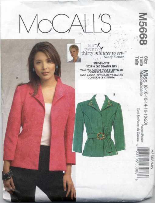 McCalls M5668 C
