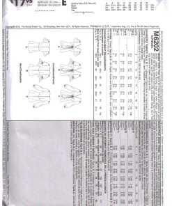 McCalls M6202 M 1