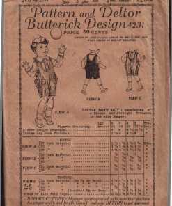 Butterick 4231 J