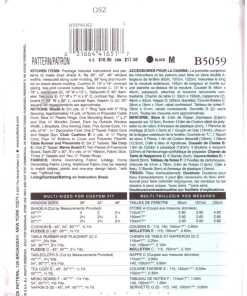 Butterick B5059 J 1