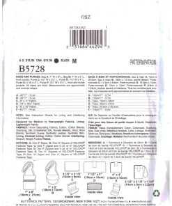 Butterick B5728 J 1