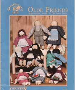 Country Cross Stitch Stuffed Toys