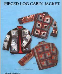 Diana Leone Designs Pieced Log Cabin Jacket