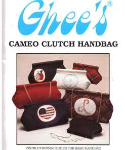 Ghees Cameo Clutch Handbag