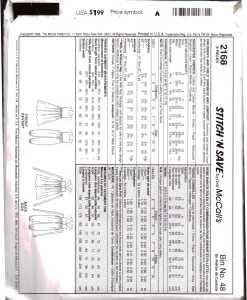 McCalls 2168 J 1