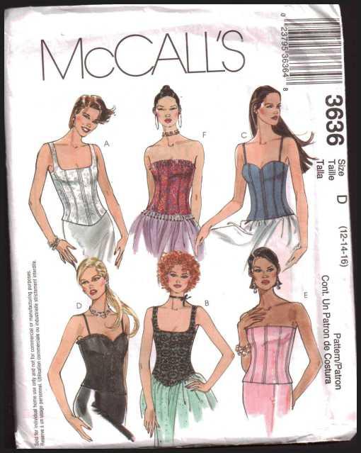 McCalls 3636 J