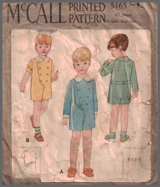 McCalls 5165 J