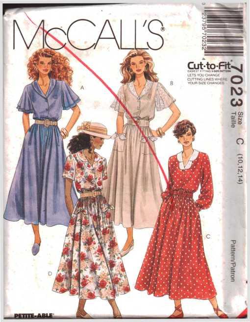 McCalls 7023 J