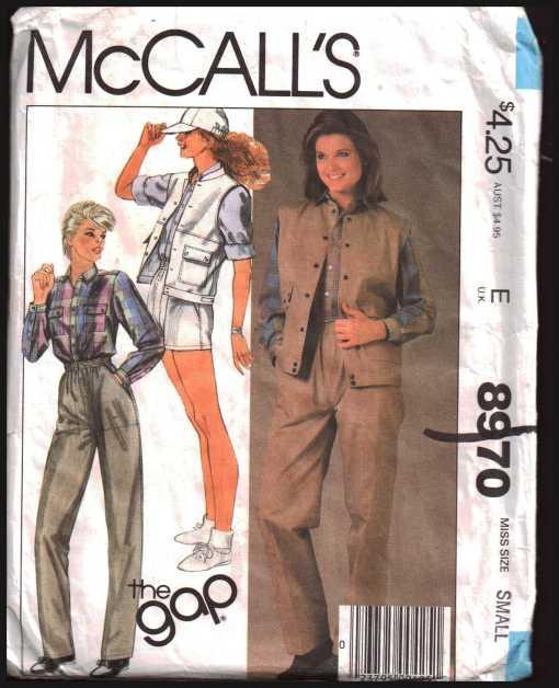 McCalls 8970 J
