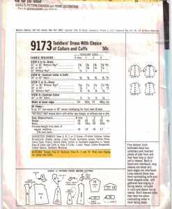 McCalls 9173 J 1