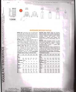 Vogue 1306 J 1