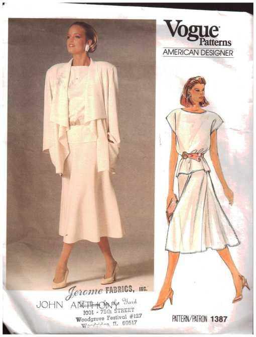 Vogue 1387 J