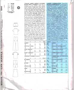 Vogue 1844 J 1