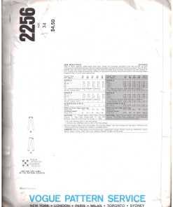 Vogue 2256 J 1