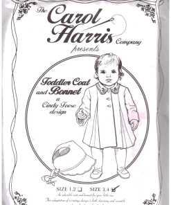 Carol Harris Toddler Coat Bonnet