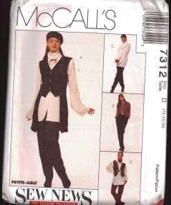 McCalls 7312 J