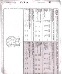 McCalls 8866 J 1