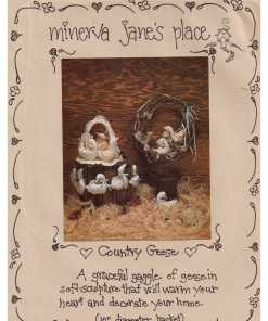 Minerva James Place Country Geese