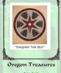 Oregon Treasures Quilt Evergreen Tree Skirt