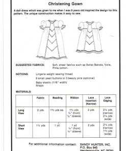 Sandy Hunter Christening Gown 1