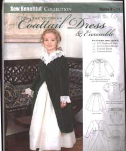 Sew Beatuful coattail dress