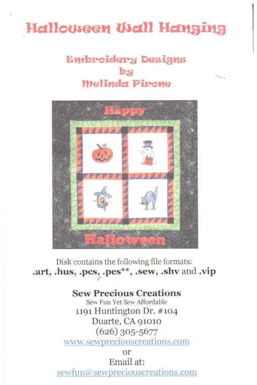 Sew Precious Halloween Wall