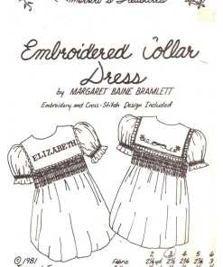Tomorrows Treasures Embroidery Collar Dress