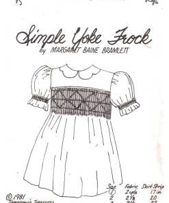 Tomorrows Treasures Simple York Frock