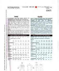 Butterick 4005 N 1