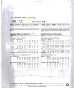 Butterick B6173 O 1