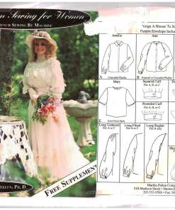 Martha Campbell Pullen Heirloom Sewing for Women O