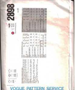 Vogue 2898 O 1