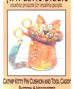 Art Fabric StudioCatnip Kitty Cushion