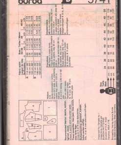 Burda 5741 N 1