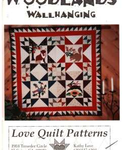 Love Quilt Patterns Woodlands Wallhanging