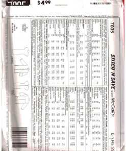 McCalls 7035 N 1