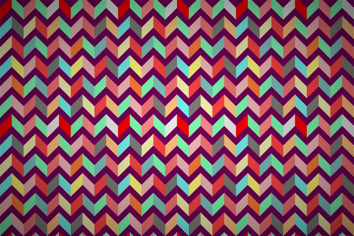 Free Neo Patchwork Zigzag Wallpaper Patterns