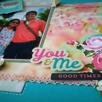 Scrapbook Layout - You and Me