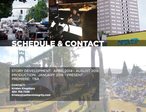 Portland Inc Pitch Deck Portland Video Production Oregon Film Documentary filmmaking St Johns Jazz Festival St Johns Bridge Big Pink Erika Ellis