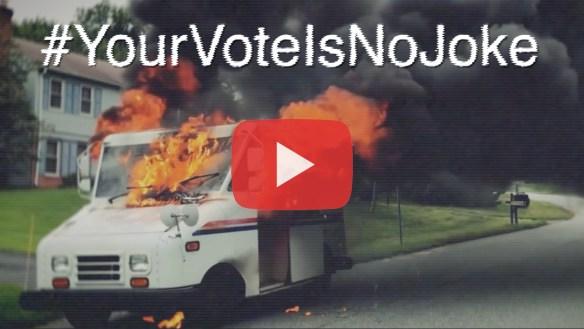 Your Vote is no Joke, save the usps,louis dejoy,Pattern Integrity Films